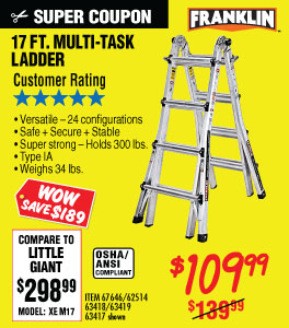 View 17 Ft. Type IA Multi-Task Ladder