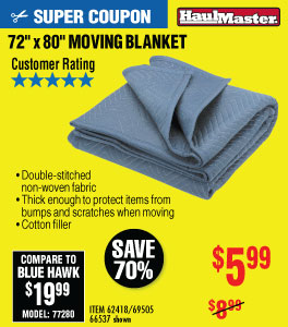 View 72 in. x 80 in. Moving Blanket