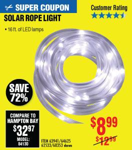 View SOLAR ROPE LIGHT