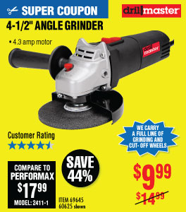 View 4-1/2 in. 4.3 Amp Angle Grinder