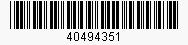 Code: 40494351