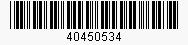 Code: 40450534
