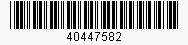 Code: 40447582