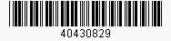 Code: 40430829