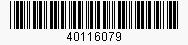 Code: 40116079