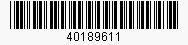 Code: 40189611