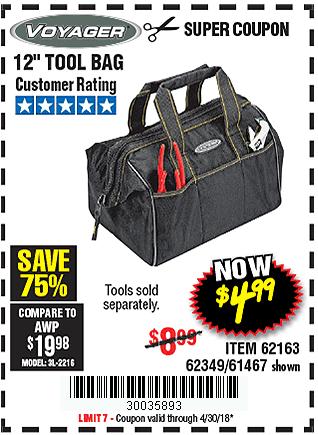 12 In. Tool Bag