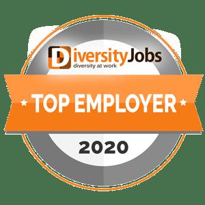 DiversityJobs - Top Employer - 2020