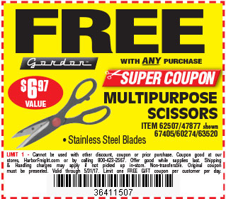 Free MULTIPURPOSE SCISSORS