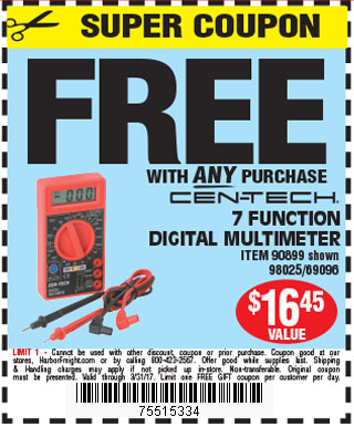 Free digital multimeter