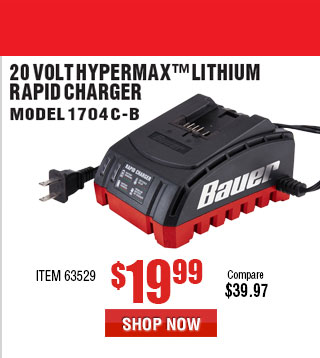 20V HyperMax™ Lithium Rapid Charger