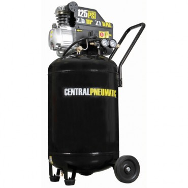 2.5 HP, 21 Gallon, Volt PSI Cast Iron Vertical Air Compressor