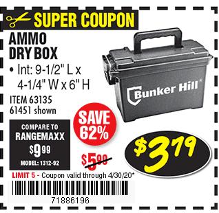 Ammo Dry Box