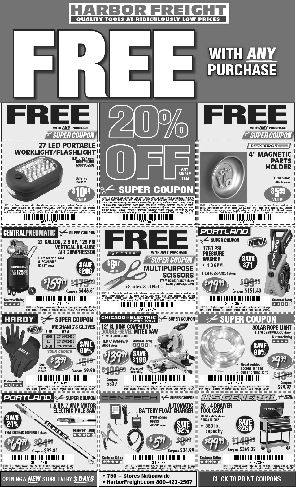 It's just an image of Old Fashioned Harbor Freight Super Coupon Printable