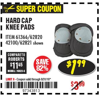 HARD CAP KNEE PADS