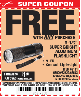 Digital savings and coupons from harbor freight sciox Image collections