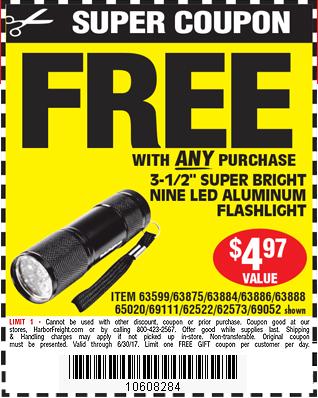 3-1/2 in. 9 LED Mini Flashlight