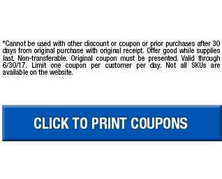Disclaimer and Click to print coupons