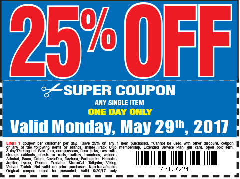 25 % off coupon