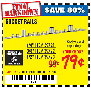 Socket Rail