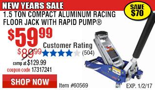 1.5 Ton Aluminum Racing Jack