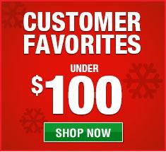Customer favorite gifts under $100