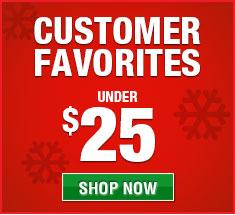 Customer favorite gifts under $25