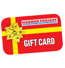 Harbor Freight Tools Gift Cards