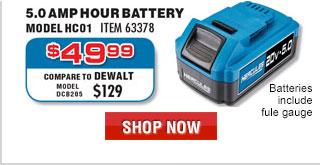 20V 2.5 Ah Hercules® Battery