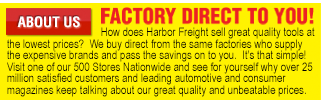 Shop Harbor Freight