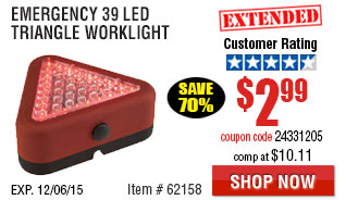 LED triangle worklight