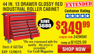 13 Drawer Industrial Roller Cabinet