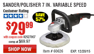 Variable Speed Sander/Polisher