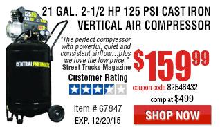 Vertical Air Compressor