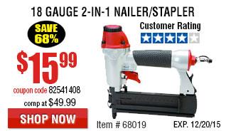 2-in-1 Nailer/Stapler