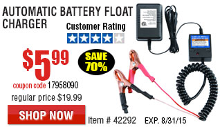 Battery Float Charger
