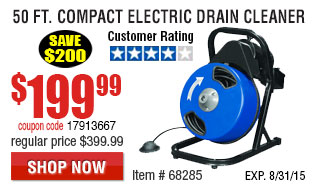 Electric Drain Cleaner