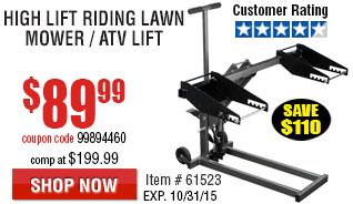 Lawn Mover ATV Lift
