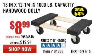 Hardwood Dolly