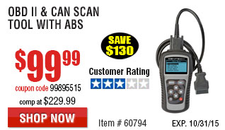OBD II  & CAN Scan Tool with AB