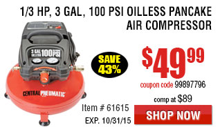 Oilless Pancake Air Compressor