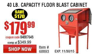 Abrasive Blast Cabinet