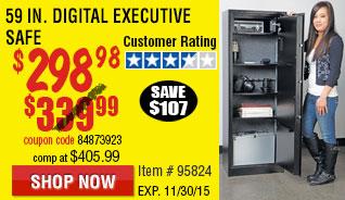 59 In. Digital Executive Safe