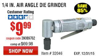 1/4 in. Air Angle Die Grinder