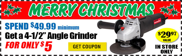 $5 Grinder Coupon