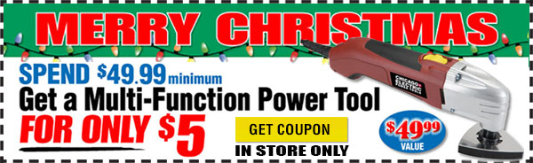 $5 Multi-Function Power Tool Coupon