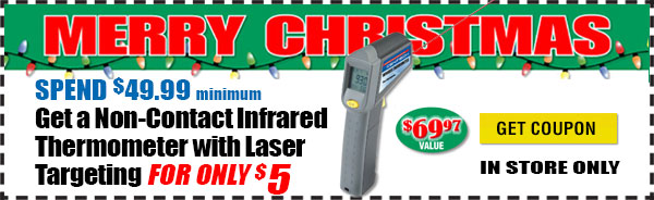 $5 Non-Contact Laser Thermometer Coupon