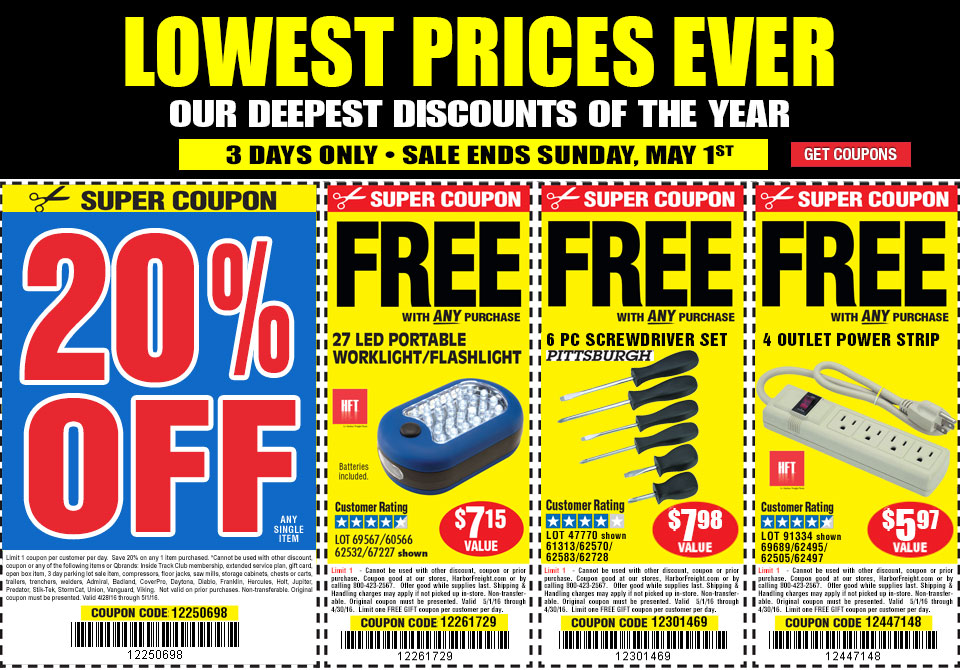 3 DAY SALE Lowest prices ever
