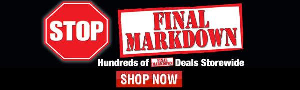 Final Markdown Sale