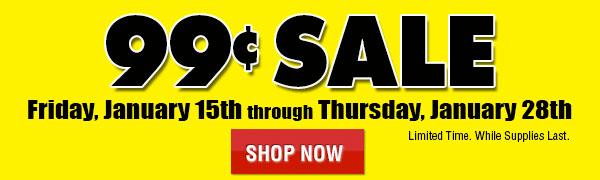 99 Cent Sale